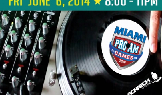 Miami Dj Battle ProAm Games 2014